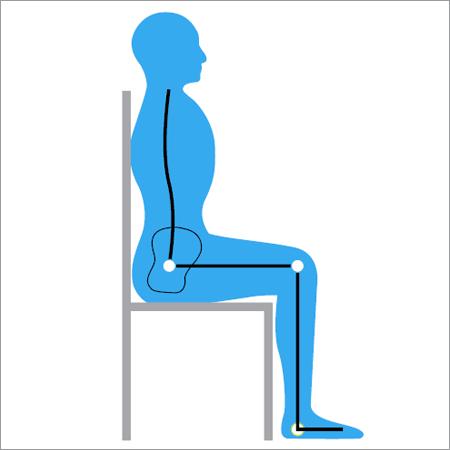 Posture-when-sitting